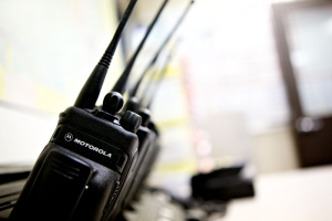 Two Way Radios in 6 Port Multi Charger
