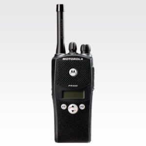 Motorola PR400 Two Way Analog Radio