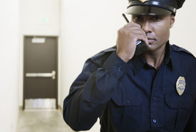 Security Guard Using Eventtone Two Way Radio